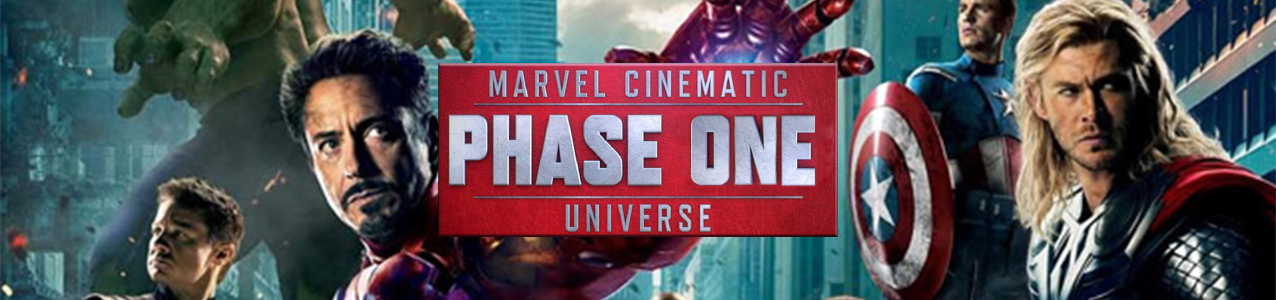 Marvel Cinematic Universe Phase 1 Binge Box