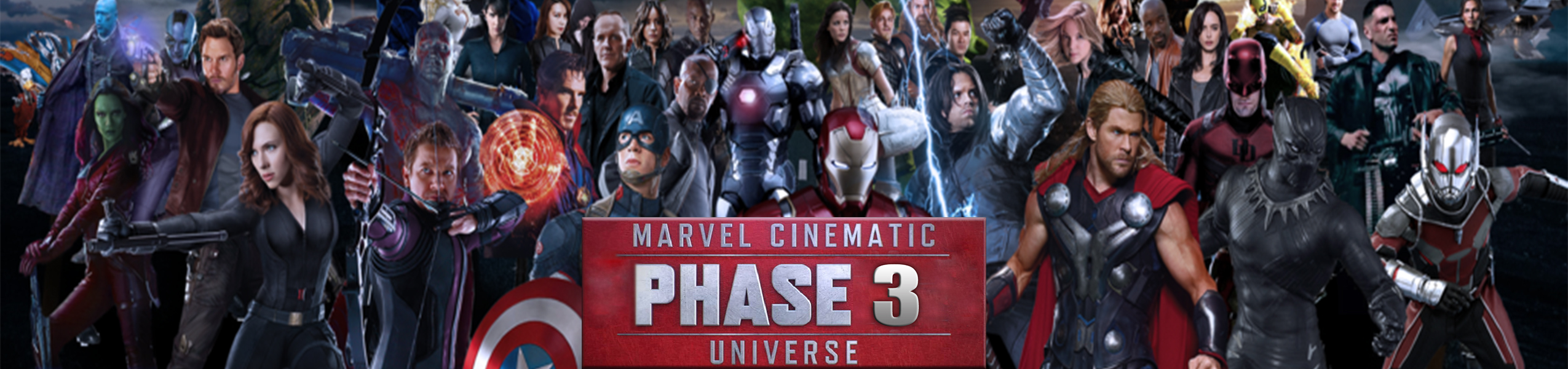 Marvel Cinematic Universe Phase 3 Binge Box