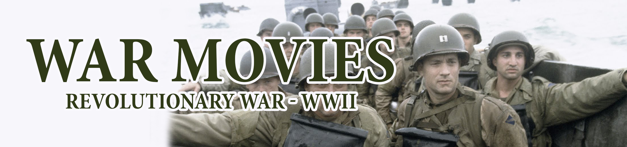 War Movies: Revolutionary War - WWII Binge Box