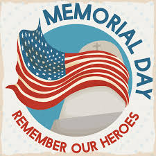 Library is closed in observance of Memorial Day