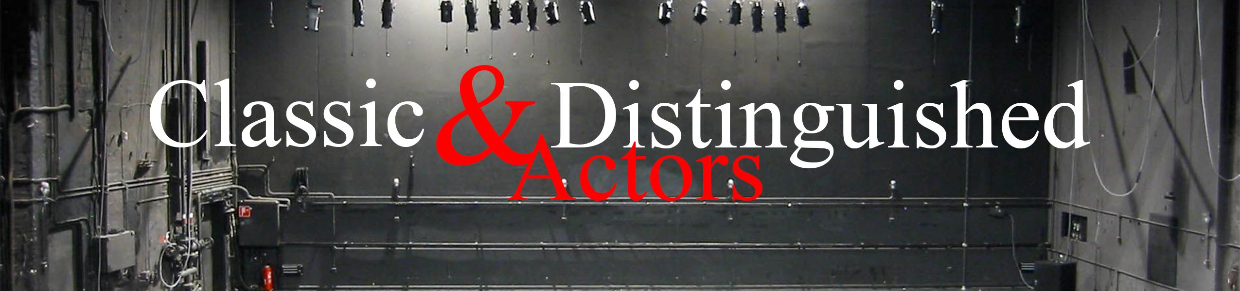Classic & Distinguished Actors Binge Box