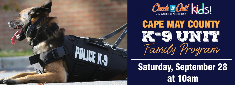 Cape May County K-9 Unit Visit