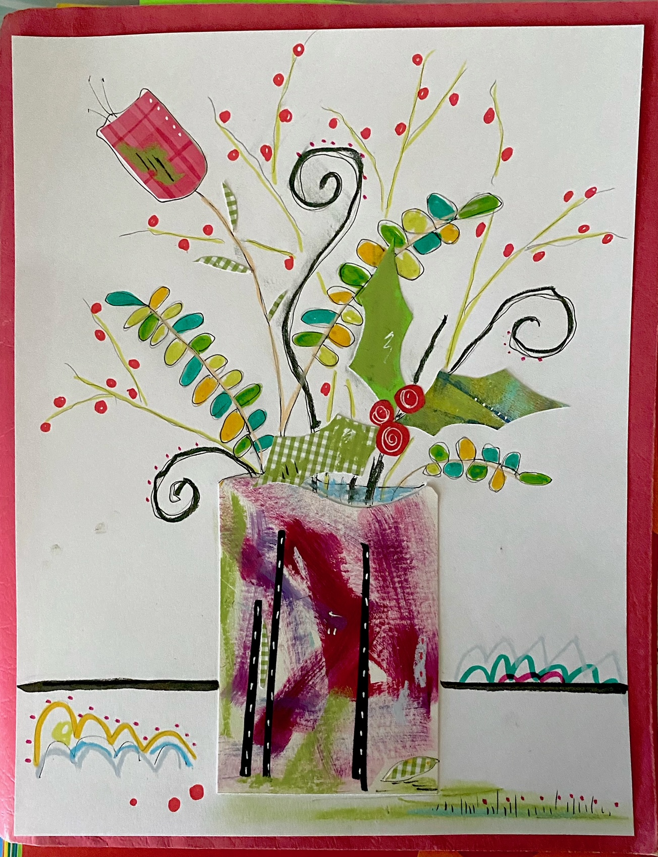 Art Workshop: Collage for Adults