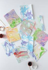Monday Funday: Marbled Paper Workshop