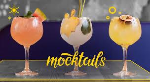 Seasonal Mocktails